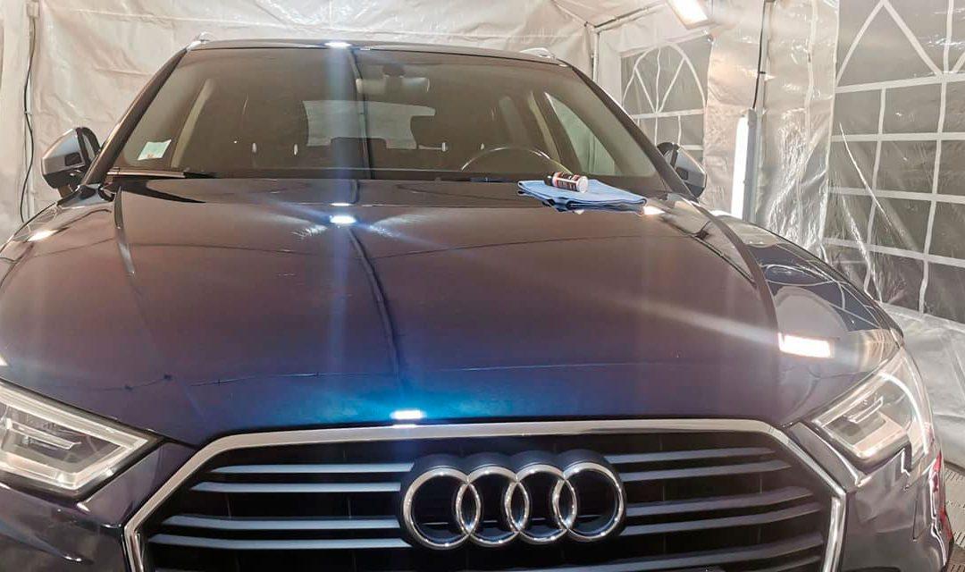 Pose d'une protection céramique – Audi