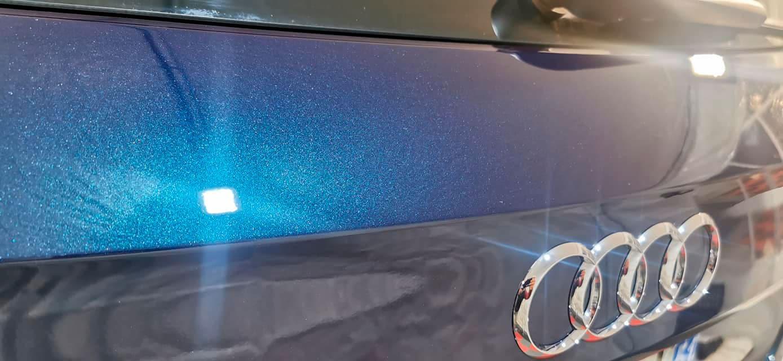 Pose d'une protection céramique System X Diamond Syper Slick sur une Audi